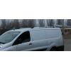 Алюминиевые рейлинги на крышу (пластиковые ножки) для Peugeot Expert 2007+ (Erkul, PERRL.02)