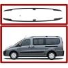 Алюминиевые рейлинги на крышу (пластиковые ножки) для Peugeot Expert 2007+ (Erkul, PERRL.03)