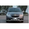 Защита переднего бампера (двойная, D60) для Chevrolet Orlando 2010+ (ST-LINE, ST.CO10.ST015/d60)
