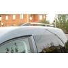 Алюминиевые рейлинги на крышу (пластиковые ножки) для VW Caddy 2004-2015 (Erkul, WCRRL.01)