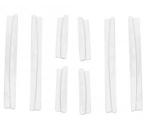 """Протектор для защиты края дверей от сколов """"белый"""" (KAI, 924107ST.WHT)"""