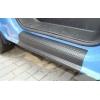 Накладки на пороги для Opel Vivaro/Renault Traffic/Nissan Primastar 2000+ (Automotiva, P-0009)