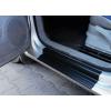 Накладки на пороги для Volkswagen Caddy 2003+ (Automotiva, P-0001)