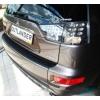Накладка на задний бампер для Mitsubishi Outlander XL 2006+ (Automotiva, N-0012)