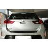 Накладка на задний бампер для Toyota Auris 2 2012+ (Automotiva, N-0030)