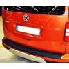 Накладка на задний бампер для Volkswagen Caddy 2003+ (Automotiva, N-0016)