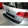 Накладка на задний бампер для Volkswagen Passat (B7) Combi 2010+ (Automotiva, N-0029)