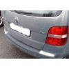 Накладка на задний бампер для Volkswagen Touran 2003+ (Automotiva, N-0007)
