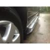 Боковые пороги (Rainbow) для Ford Ranger 2012+ (Erkul, FDRG12RB6B193RW)