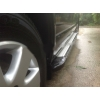 Боковые пороги (Rainbow) для Ford Tourneo Custom Long 2013+ (Erkul, FDTRL13RB6B240RW)