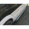 Боковые пороги (Line) для Ford Ranger 2007-2012 (Erkul, FDRG07RB6B193LN)