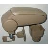 Подлокотник (бежевый, виниловый) для Chevrolet Aveo (T250) 2005-2011 (ASP, BCVLV6H20-B)