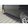 Боковые пороги (Allmond Black) для Peugeot 5008 2010+ (Erkul, PG5010RB4B193AMB)