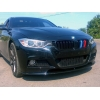 Накладка на передний М бампер для BMW 3 Series (F30) 2012+ (LERRIUM, BL191 182-015)