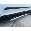 Боковые пороги (Boshporus Black) для Mazda BT-50 2012+ (Erkul, MZBT12RB6B193BSB)