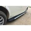 Боковые пороги (Boshporus Black) для Peugeot 5008 2010+ (Erkul, PG5010RB4B193BSB)