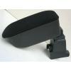 Подлокотник (черный, текстильный) для Renault Dokker/ Dacia Dokker/ Renault Sandero Stepway 2012+ (Botec, 64332TB)