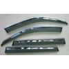 Дефлекторы окон (с молдингом из нерж. стали) для BMW X5 (F15) 2014+ (ASP, BBMWX51523-W/S)