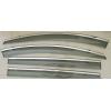 Дефлекторы окон (с молдингом из нерж. стали) для Mazda 5 2013+ (ASP, BMDM51323-W/S)