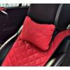 Автоподушка (Красный, 1 шт.) (AVTOРИТЕТ, pillow-headrest-RED)