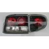 Задняя светодиодная оптика (задние фонари) для Ford Escort 1995-2000 (JUNYAN, HU04-01-2-E-01)