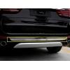 Хром накладка на задний бампер для BMW X5 (F15) 2014+ (Kindle, X5-C44)