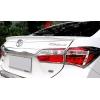 Спойлер крышки багажника (Сабля) для Toyota Corolla 2013+ (AVTM, TYCOBG2013)