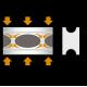 Автобаферы - амортизирующие подушки (4 шт.) для Buick Regal2002+ (TTC, BC)