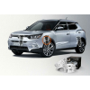 Автобаферы - амортизирующие подушки (2 шт., пер.) для Ford Ecosport I2003-2012 (TTC, B)