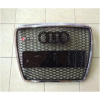 Решетка радиатора (RS Style с хром окантовкой) для Audi A6 2008-2012 (S-Line, RSA6H)