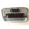 Решетка радиатора (RS Style с хром окантовкой) для Audi A6 2012+ (S-Line, RSA612H)