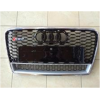 Решетка радиатора (RS Style с хром окантовкой) для Audi A7 2013+ (S-Line, RSA7H)