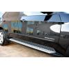 Боковые пороги OEM Style для BMW X5 2008+ (PRC, DS-X5-003)