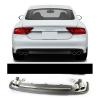 Диффузор на задний бампер (S-Line) для Audi A7 2012-2014 (S-line, SA7BA)