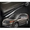 Боковые пороги New Desigh для Honda CRV 2013+ (PRC, DS-H-203)
