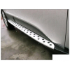 Боковые пороги BMW Style для Hyundai IX35 2009+ (PRC, IX-S002)