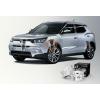 Автобаферы - амортизирующие подушки (4 шт.) для Toyota Prius 2011+ (TTC, SB)