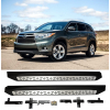 Боковые пороги для Toyota Highlander 2014+ (PRC, DF-THL-203)