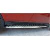 Боковые пороги для Toyota RAV4 2013+ (PRC, RAV4130111)