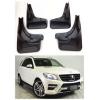 Брызговики (к-кт 4шт. для авто с порогами не AMG/Sport/5,5/USA) Mersedes ML W166 2011+ (PRC, DF-ML-000 M009)