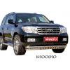 Защита переднего бампера (двойная) для Toyota LC Prado 120 2002-2009 (PRC, FJ120 SG005)
