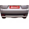 Защита заднего бампера (двойная труба) для Mitsubishi Pajero Sport 2009-2013 (PRC, D121212)