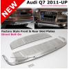 Накладки на передний и задний бампер Audi Q7 2009-2015 (PRC, Q7-Q026)