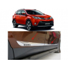 Молдинги на двери для Toyota RAV4 2013+ (PRC, RAV4131606)