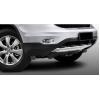 Накладка на передний бампер Honda CRV 2010-2012 (PRC, CRV100503)