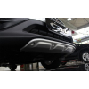 Накладка на передний бампер Honda CRV 2012+ (PRC, DS-H-221)