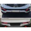 Накладка на задний бампер для Kia Sportage 2010+ (PRC, DS-F-152)