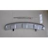 Накладка на задний бампер для Kia Sportage 2010+ (PRC, DS-F-102)