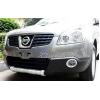 Накладка на передний бампер Nissan Qashqai 2007-2013 (PRC, QSQ-Q001)