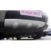 Накладка на передний бампер Nissan X-Trail 2007-2013 (PRC, XTR-Q001)